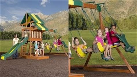 backyard discovery independence swing set how to build a wooden glider swing woodworking projects
