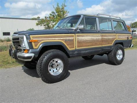 1989 jeep wagoneer lifted 1989 jeep grand wagoneer