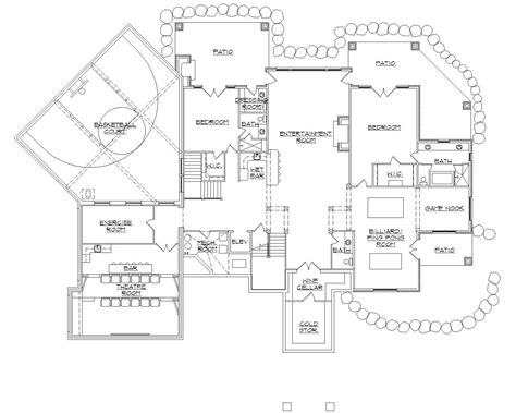 basketball floor plan house plans with indoor basketball court how to costs