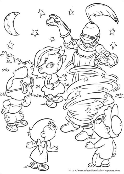 bunnytown coloring page little einsteins coloring pages educational fun kids