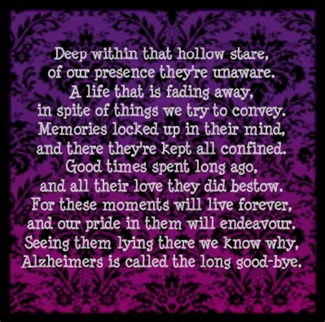 caretakers poem brain cancer awareness 18 best images about i wear purple for my pappy