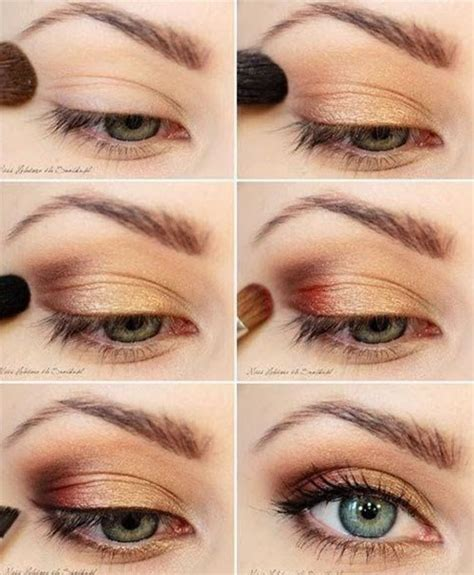 berbagai step by step tutorial eyeshadow natural vemale com 12 easy simple fall makeup tutorials for beginners