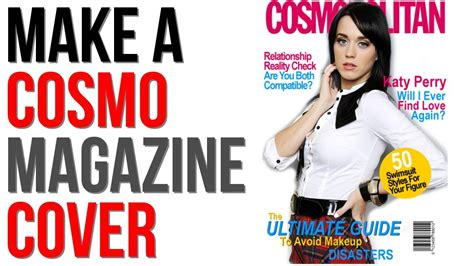 gimp tutorial make cosmopolitan magazine cover part 1