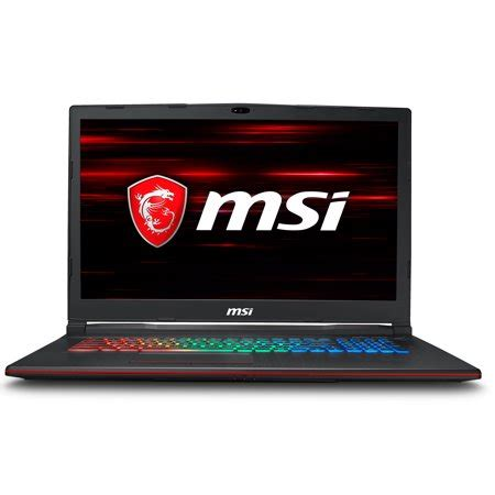 msi gp73 leopard premium 17.3 inch gaming and business