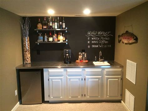 chalkboard paint ideas for bar hometalk bar upgrade