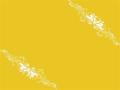 yellow ppt themes free download yellow ornaments powerpoint templates yellow ornaments