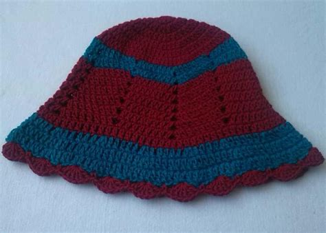 free pattern for zig zag hat zig zag hat free pattern allfreecrochet com