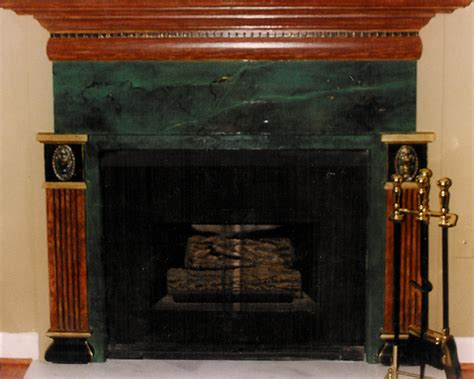 Faux Marble Fireplace Surround by Fireplaces Artafix
