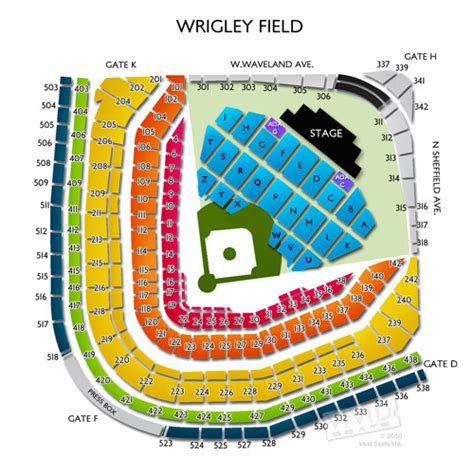 wrigley field seating billy joel at the ballpark rateyourseats