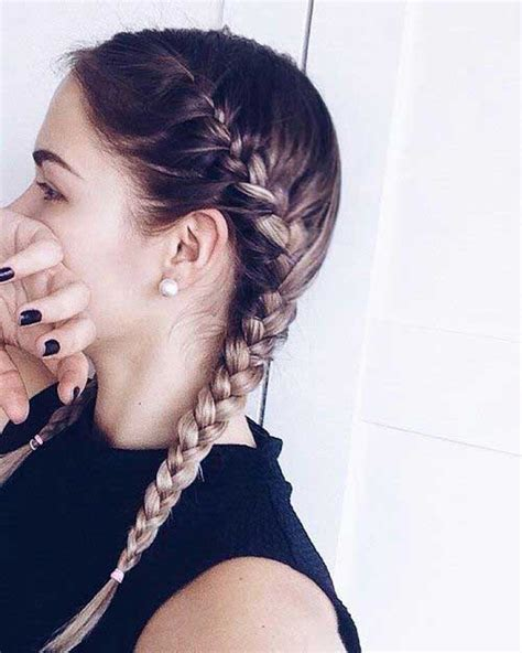 Hairstyle With 2 Shoulder Braids | 25 girl braid hairstyles long hairstyles 2017 long