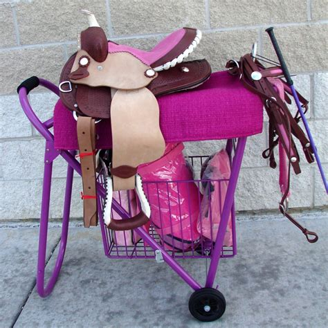 Rolling Saddle Rack by Or Western Show Rolling Saddle Stand Rack Stack