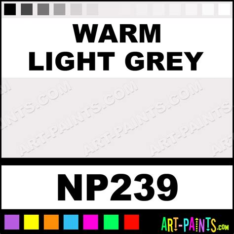 warm light grey nupastel 48 set pastel paints np239 warm light grey paint warm light grey
