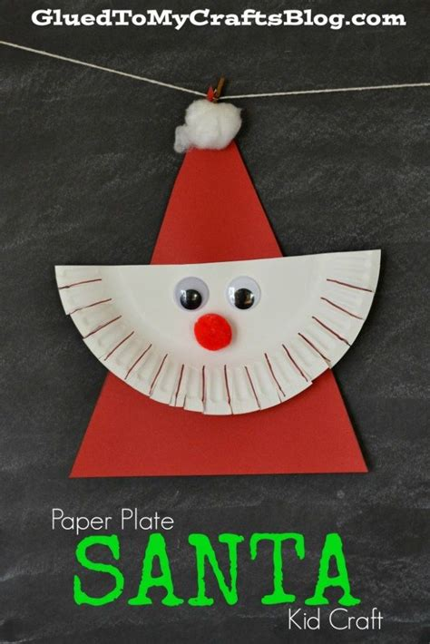 Paper Plate Santa Craft - best 25 plate ideas on creative wedding
