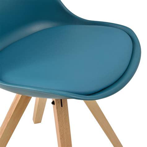 stuhl plastik holz en casa 2x design st 252 hle esszimmer stuhl holz kunststoff