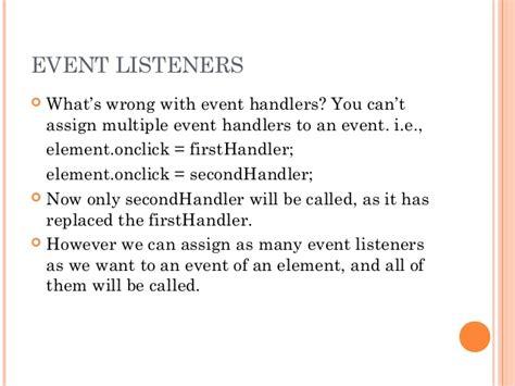 javascript tutorial event listener javascript event listener get element phpsourcecode net