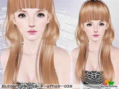 female hair sims 3 my sims 3 blog butterflysims female hair 038 029