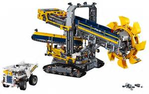 Technic Lego Lego 42055 Technic Wheel Excavator Free P P Back In