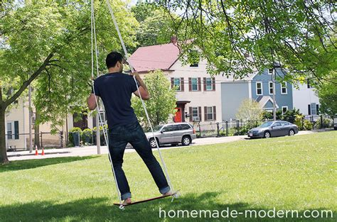 how to make a skateboard swing homemade modern ep35 the skate swing