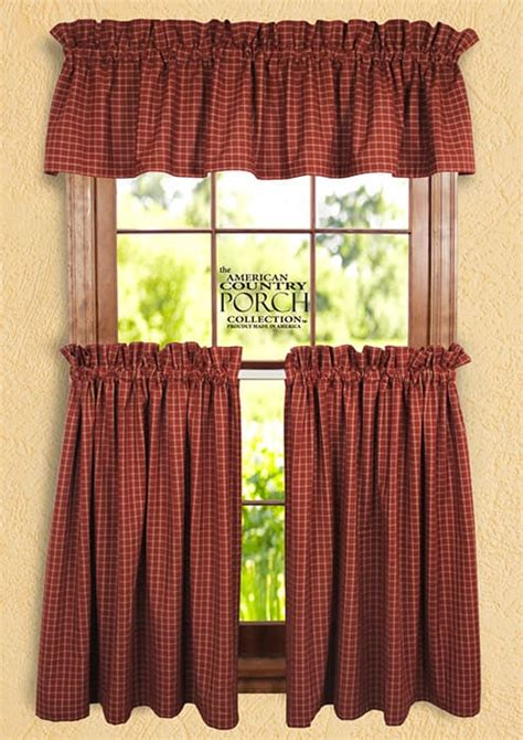 wine curtains valances wine teadyed reverse window pane curtain valances