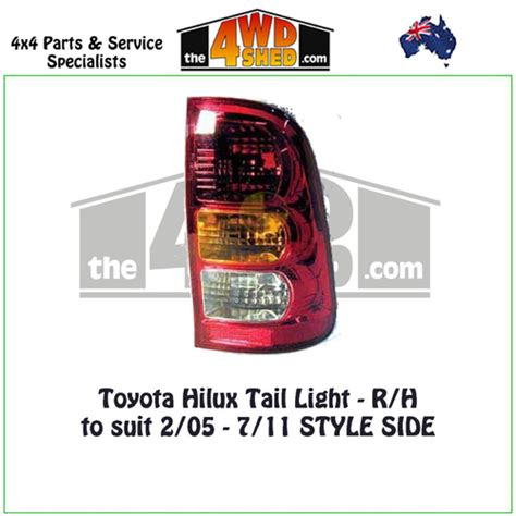 r and h toyota toyota hilux light r h
