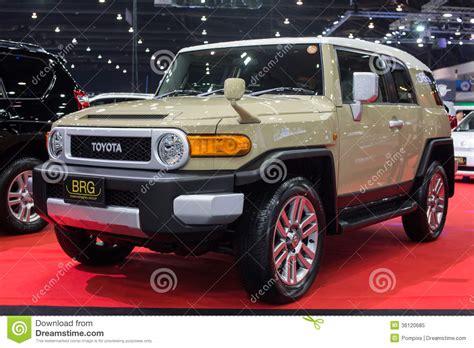 toyota international thailand super car import car show editorial image