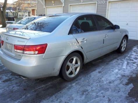 2007 Hyundai Sonata Gas Mileage by Sell Used 2007 Hyundai Sonata Limited Sedan 4 Door 3 3l In