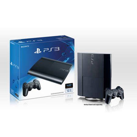 ps3 gaming console playstation 3 12gb gaming console walmart exclusive