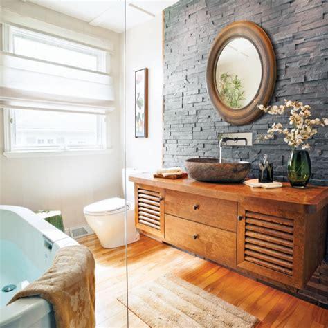 salle de bain asiatique zen
