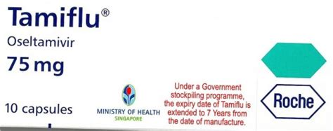 Shelf Of Tamiflu by Doctors Given Expired Tamiflu In Singapore Techgoondu