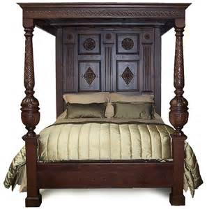four poster beds for richard iv four poster bed carved oak canopy bed