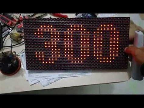 membuat antena tv led indoor cara memprogram led matrix indoor repeatvid