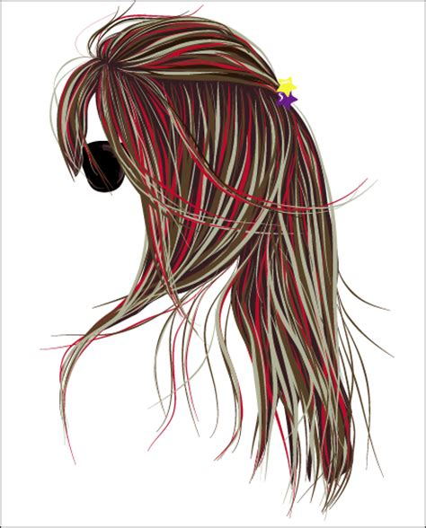 long hair free vector art 1906 free downloads perfecting vector hair by smashbabyy on deviantart