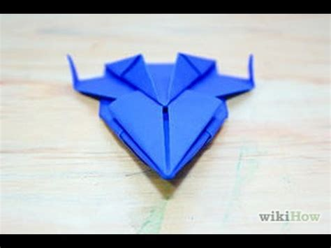 Origami Space Ship - how to make origami spaceship