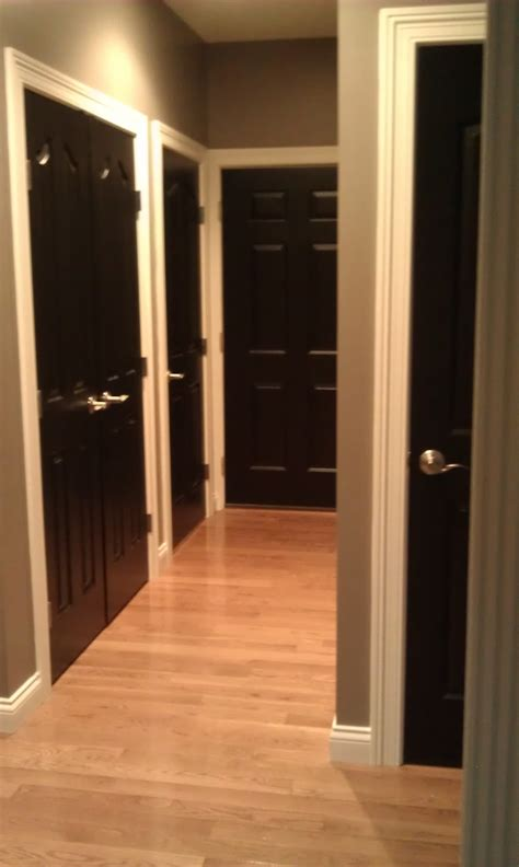 Painted Interior Doors by Alas 3 Lads Interior Doors Painted Black