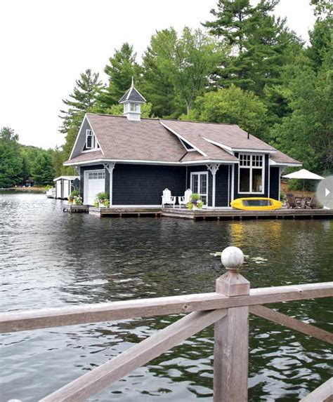 boat house canada small boathouse with big cottage charm cococozy
