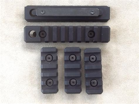 troy alpha rail sections 5 troy industries strx vtac alpha rail sections w qd hole