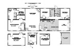 Liberty Mobile Homes Floor Plans Manufactured Home Floor Plan 2007 Clayton Rio Vista
