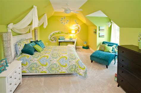 Yellow Green Bedroom Design Green And Yellow Bedroom Ideas Photos And