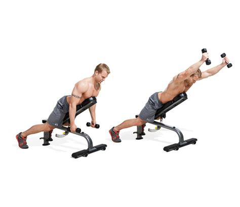 bench for back exercises the 30 best shoulders exercises of all time men s fitness