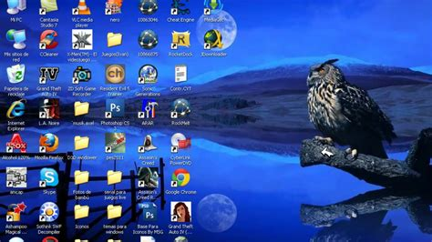 imagenes para pc hd windows xp como poner los iconos grandes del escritorio en windows xp
