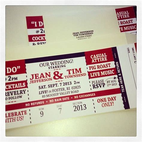 printable tear off tickets 1000 images about invites ideas on pinterest theater