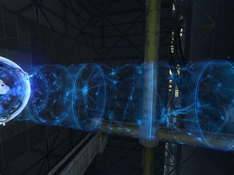 Light Portal tractor beam and light bridge textures addon the iris initiative mod for portal 2 mod db