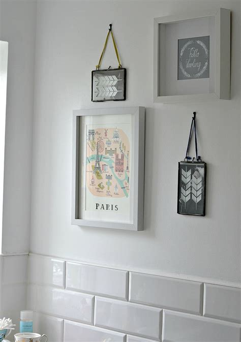 bathroom artwork for the walls create your own diy wall art by jen stanbrook the oak