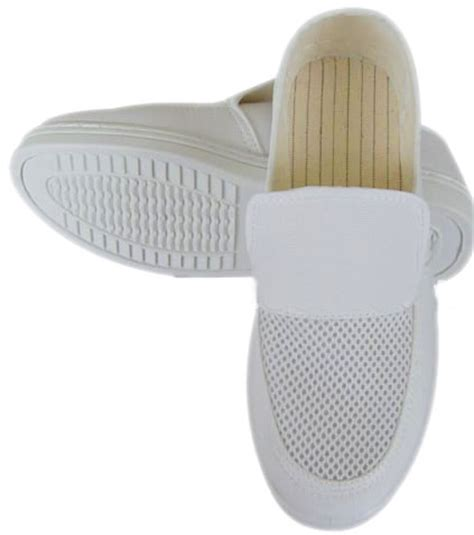 pvc sole esd shoes mesh esd shoes eles antistatic footwear manufacturer