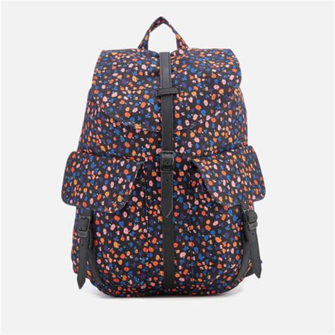 Original Herschel Dawson Xs Backpack Black Mini Floral herschel supply co s dawson xtra small backpack black mini floral