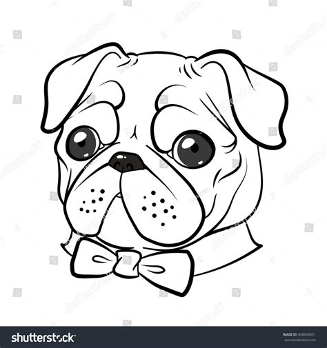 pug outline drawing best ideas of fabulous pug puppy coloring pages with pug coloring pages epic pug