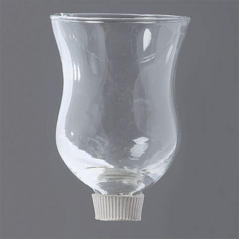 kerzen glas aufsatz glas 9x6 kerzen tropfschutz kerzenschutz
