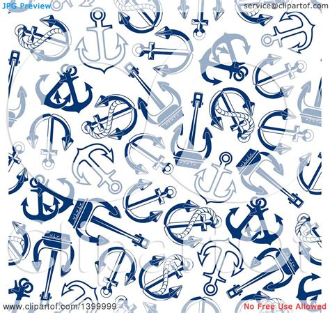 nautical pattern vector free clipart of a nautical seamless background pattern of navy
