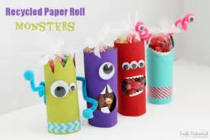 Crafts With Toilet Paper Rolls - toilet paper roll crafts recycled treat holders