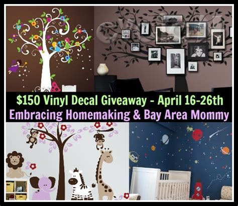 Vinyl Giveaway - 150 vinyl decal giveaway ends 4 26 13 embracing homemaking